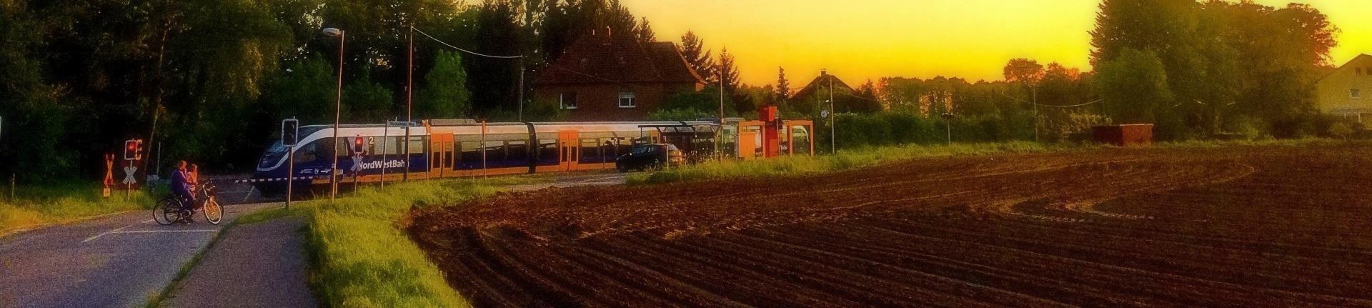Bahnübergang Haller Willem