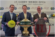 Gerry Weber Open 2019  - Pressekonferenz Sport & Entertainment