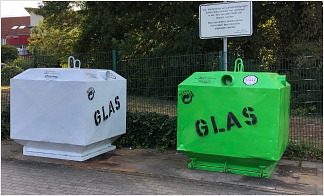 Glas-Container