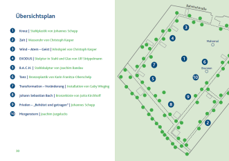 Lageplan 2015 © Stadt Halle (Westf.)